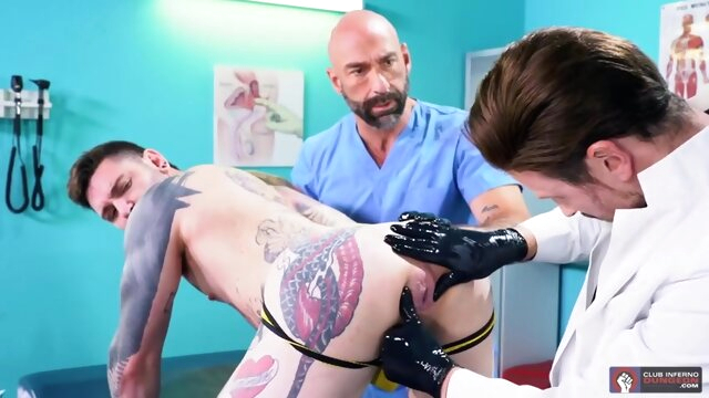 The Punchy Proctologist Pt2 sex gay sex brunette