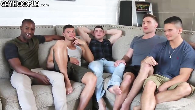 Collin Simpson - Orgy sex gay sex black